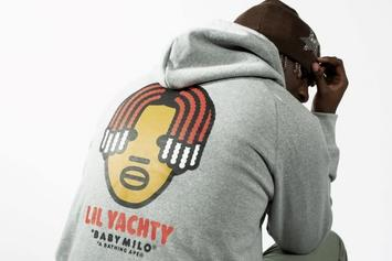 Lil Yachty & BAPE Team Up For A Brand New Collection: Photos