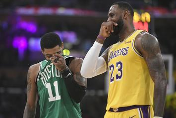 Kyrie Irving Reportedly Open To Playing With LeBron James In L.A.