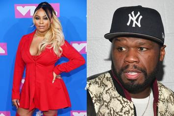 """Teairra Mari Finally Agrees To Pay 50 Cent With Parting """"Brokeback"""" Jab"""