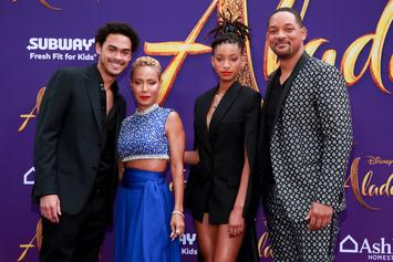 """Will Smith Surprises Moviegoers At """"Aladdin"""" Viewing In Calabasas"""