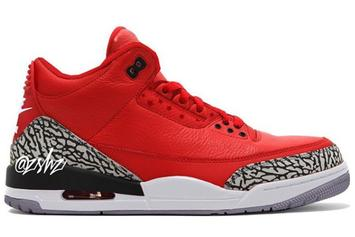 "Air Jordan 3 ""Chicago All-Star"" Rumored For 2020: First Look"