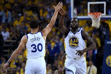 """Draymond Green Downplays Post-Game """"Scuffle"""" With Drake"""