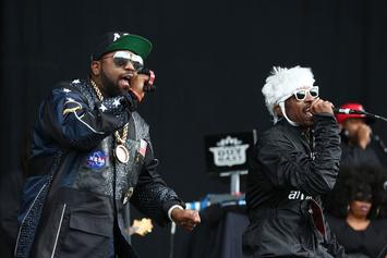 Andre 3000 & His Son Seven Link Up With Big Boi For The Perfect Reunion
