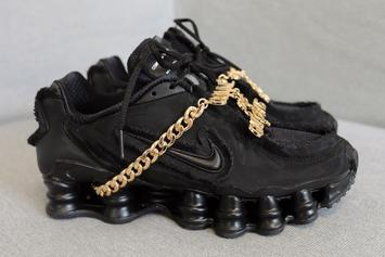 Comme Des Garcons x Nike Shox TL Releasing This Month In Two Colorways
