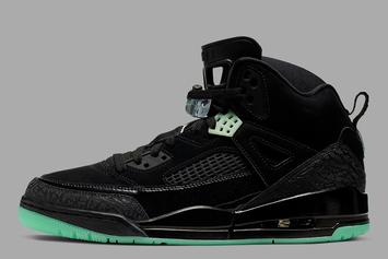 "Jordan Spiz'ike Returns In ""Black & Glow"" Colorway: Official Photos"