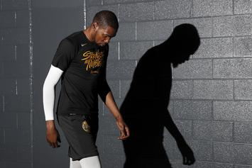 "Kevin Durant Has ""Good Chance"" Of Playing In The NBA Finals: Report"