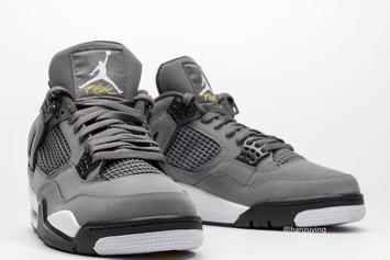 "Air Jordan 4 ""Cool Grey"" Returning For First Time Since 2004: First Look"