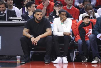 Drake Wore A $750K Watch To The NBA Finals