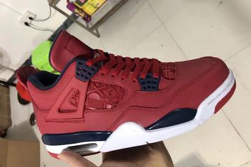 Air Jordan 4 FIBA Rumored For This Summer: First Look