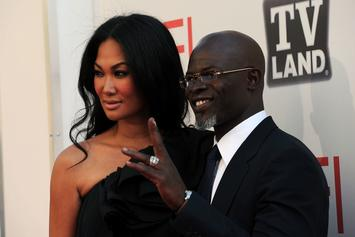 Djimon Hounsou Accused Of Being Absent From Son's Life