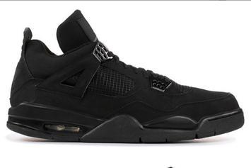 "Air Jordan 4 ""Black Cat"" Rumored To Return In 2020"