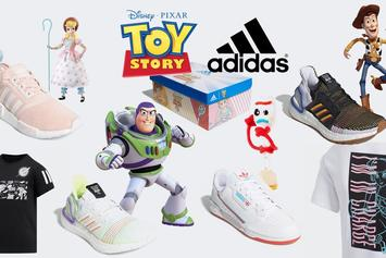 Toy Story x Adidas Sneaker Collection Releases Today: Where To Cop