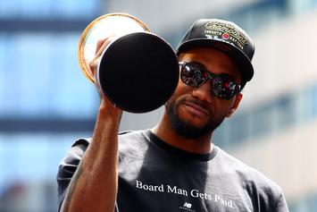 Kawhi Leonard Reportedly Leaning Toward Signing With The Raptors Again
