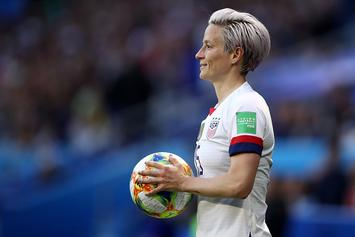 """Megan Rapinoe """"Not Going To F*cking White House"""" If U.S. Wins World Cup"""