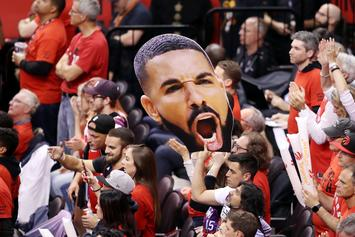 "Raptors Fans Camp Out ""In The Hundreds"" For Drake's OVO Championship Collection"