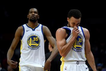 """Kevin Durant Felt Like """"Distant Second Fiddle"""" To Steph Curry: Report"""