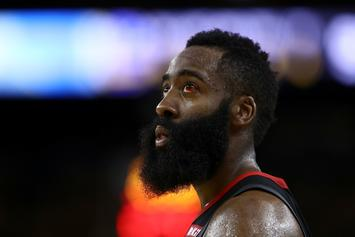 James Harden Shows Off Dubious Soccer Skills While In England: Watch