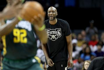 """Lamar Odom & Three Other Players """"Deactivated"""" By Big3 League"""