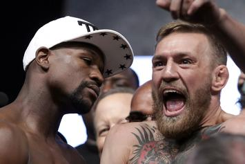 "Floyd Mayweather Calls Connor McGregor A ""Circus Clown"" For Rematch Request"