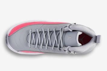 "Air Jordan 12 ""Racer Pink"" Drops In Girls Sizes This Month: Fresh Look"