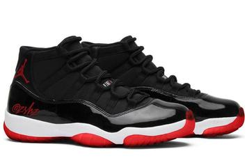 "Air Jordan 11 ""Bred"" Drops This Winter With OG Details: On-Foot Photos"