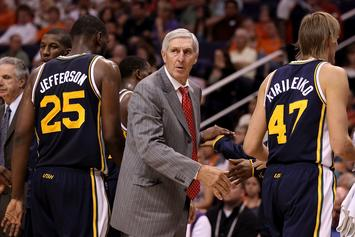 "Legendary Utah Jazz Coach Jerry Sloan Is Reportedly ""Dying"""