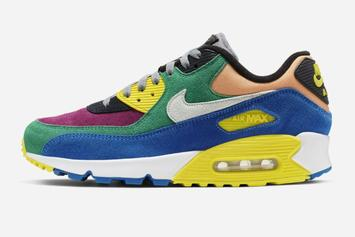 """Nike Air Max 90 QS """"Viotech 2.0"""" Release Date Revealed: Official Photos"""