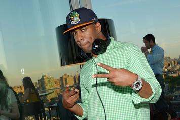 DJ Whoo Kid's Set Was So Lit A Speaker Actually Caught Fire
