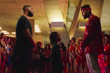 "Drake Loses Dance Battle To Chris Brown In ""No Guidance"" Video"