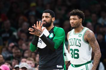 Kyrie Irving Defended By Marcus Smart Over Celtics Chemistry Issues