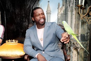 50 Cent Flexes New $170K Ring Amid Teairra Mari Feud