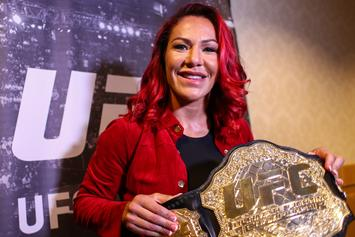 """Cris Cyborg Posts Gruesome Post-UFC 240 Images, """"I Could See My Skull"""""""