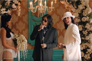 "Tyga, YG, & Blueface Throw Gatsby-Themed Party In ""Bop"" Visual"
