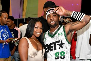 Reginae Carter Was Spying On YFN Lucci At Cucumber Party With Alexis Skyy