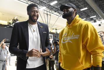 LeBron James To Organize Lakers Minicamp In Las Vegas: Report