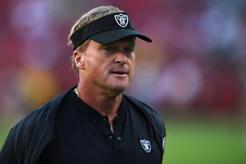 """Jon Gruden Elicits Fear In """"Hard Knocks"""" Premiere: """"I'm Into F---ing Nightmares"""""""