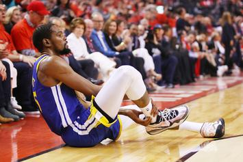 Kevin Durant Addresses Booing Raptors Fans, Doesn't Blame Warriors For Injury
