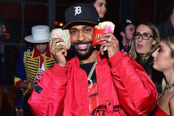 "Big Sean Still Rocking His New Look During ""Single Again"" Television Debut"