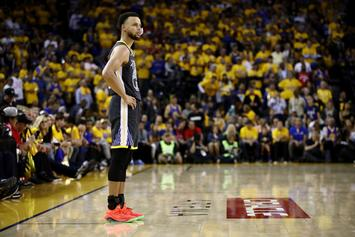 Steph Curry Blasts E-40 While Screaming Goodbye To Oracle Arena: Watch