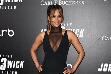 Halle Berry Rings In 53rd Birthday With Sexy Bra Less Share To Instagram