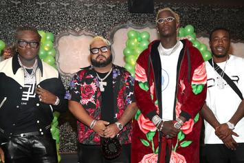 """Young Thug Celebrates """"So Much Fun"""" With Birthday Extravaganza"""