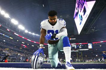 Cowboys' Ezekiel Elliott Will Not Face Charges For Las Vegas Battery Case