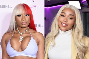 Megan Thee Stallion & Jordyn Woods Are Baddest Women Ever In Swimsuit Photo