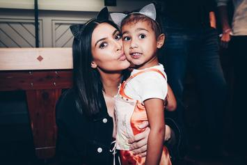Kim Kardashian West's Kids North & Saint Give Each Other The Side Eye
