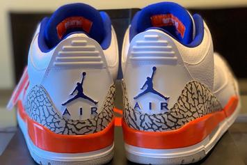"Air Jordan 3 Knicks Colorway Nods To MJ's ""Virus Game"": Release Details"
