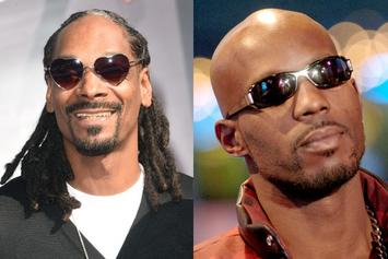 """DMX & Snoop Dogg Connect At 50 Cent's """"Power"""" Premiere"""