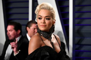 Rita Ora Leaves Little To The Imagination In Sheer Notting Hill Carnival Outfit