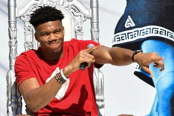 Giannis Antetokounmpo Reveals Special Edition Nikes For FIBA World Cup