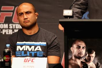 BJ Penn Finally Speaks Out On Recent String Of Viral Street Fight Videos