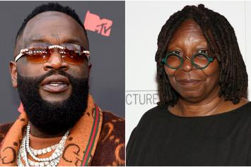 "Rick Ross & Whoopi Goldberg Are New Best Friends: ""Honor To Meet Her"""
